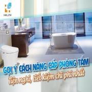 [Infographic] Gợi ý cách nâng cấp phòng tắm tiện nghi, tiết kiệm chi phí nhất