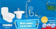 Cơ hội sở hữu trọn bộ thiết bị vệ sinh với giá rẻ