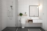 40 phòng tắm với phong cách tối giản, hiện đại