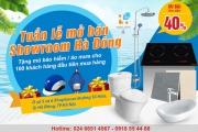 Showroom Hải Linh mở bán Thiết bị vệ sinh tại Hà Đông