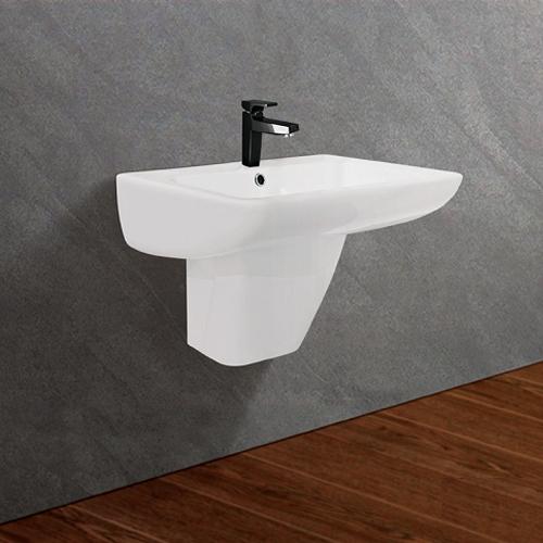 Chậu rửa mặt rửa mặt treo tường Viglacera VI61