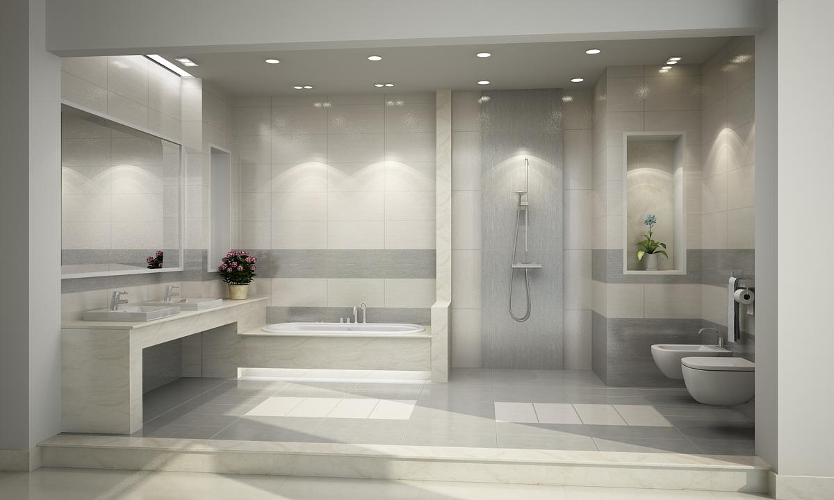 Bố trí thiết bị vệ sinh phù hợp với phòng tắm