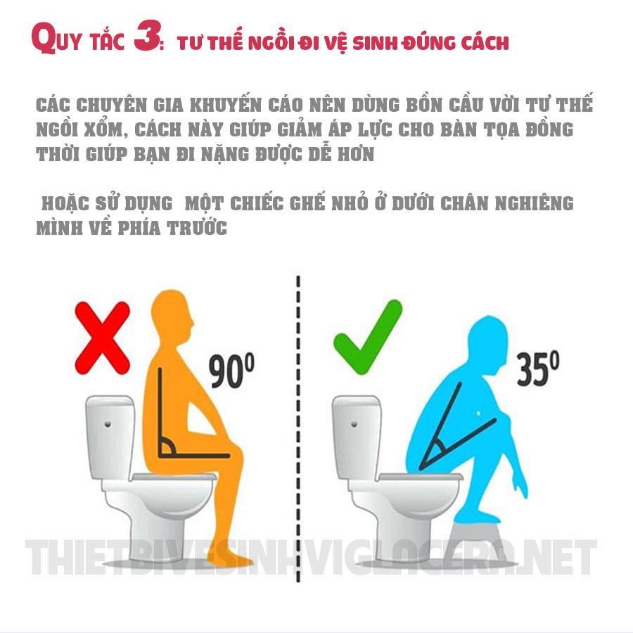 Infographic quy tắc sử dụng nhà vệ sinh Công cộng
