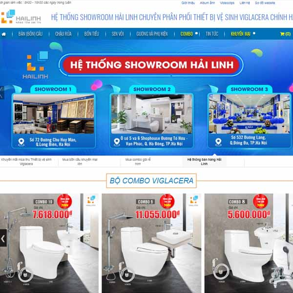 He thong Showroom Hai Linh