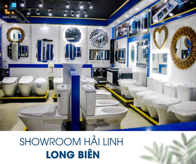 Showroom thiet bi ve sinh Long Bien